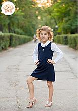 Школьный сарафан для девочки Школьная форма для девочек SILVER-SPOON Италия SS13G-1707-040
