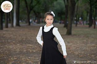 Школьный сарафан для девочки Школьная форма для девочек SILVER-SPOON Италия SS14G-1714-001