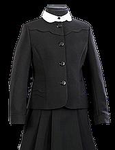 Школьный пиджак для девочки Школьная форма для девочек ПромАтельеСервис Украины ВАЛЕНТИНКА
