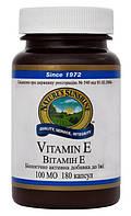 Витамин Е натуральный Vitamin E - 130 кап - NSP, США