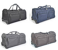 Большая Дорожная сумка на колесах Lys 76 см - 100 л. С выдвижной телескопической ручкой