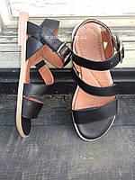 Женские сандалии кожаные Чёрные | Размер 36 38 40 |