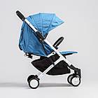Прогулочная коляска Yoya Plus Синяя (644633737), фото 4