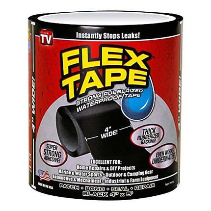 Надміцна скотч-стрічка Flex Tape 10 см, фото 2