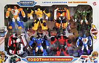 Набор трансформеров Тобот (8шт.) Игрушка-трансформер Tobot 8в1 scs