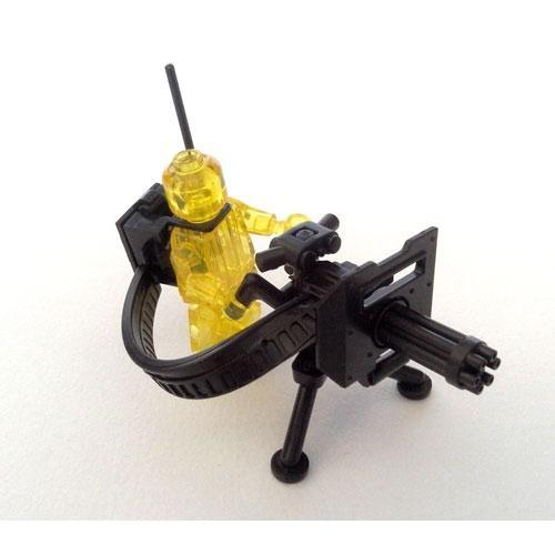 Шестиствольный пулемет Гатлинга Миниган спецназ военные Лего lego