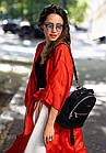 Кожаный мини-рюкзак BlankNote Kylie Оникс (BN-BAG-22-onyx), фото 7