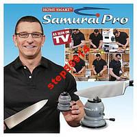 Точилка для ножей, ножниц Samurai Pro с присоской