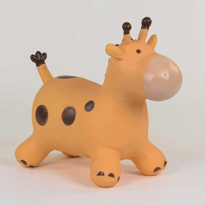 Прыгун резиновый Жираф С 37884 /7884 (30) 1 вид, 1300 грамм, в кульке