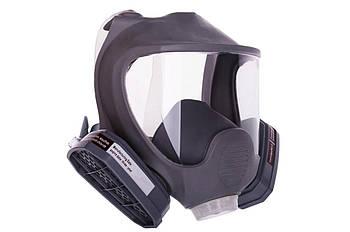 Респиратор-маска - с фильтрами марки А, резиновая оправа