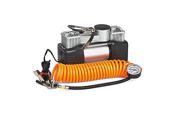 Миникомпрессор автомобільний eXpert - 12В x 12 bar x 60 л/хв, двухпоршневой