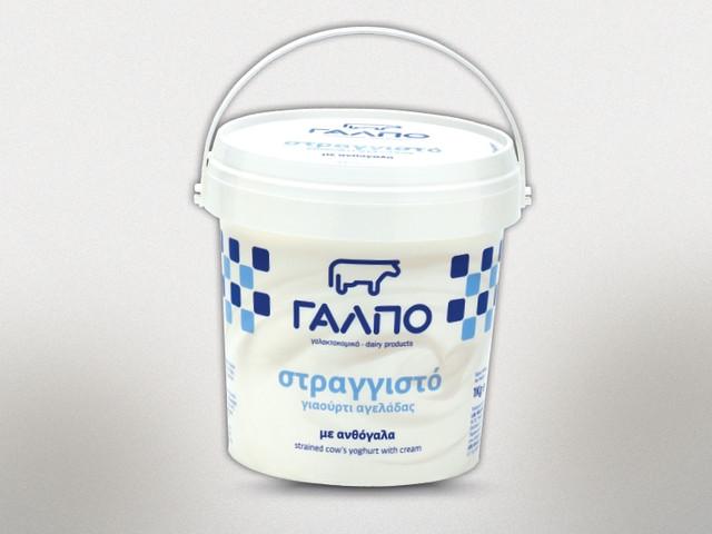 Йогурт греческий из коровьего молока