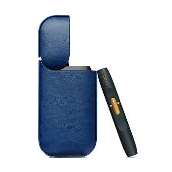 Чехол Primo Smooth для IQOS 2.4 Plus - Dark Blue