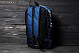 Городской рюкзак Off-white (blue/white), спортивный рюкзак Off-white, синий рюкзак Офф-Вайт, фото 3