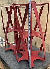 Роторная борона  активная борона  под шестигранник 32 мм700мм