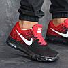 Мужские кроссовки 8177 черно Красные