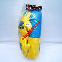 Боксёрский детский набор Груша и перчатки