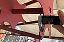 Роторная борона  активная борона  под шестигранник 23мм700мм, фото 5