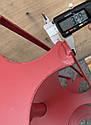 Роторная борона  активная борона  под шестигранник 23мм500мм, фото 4