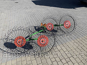 Грабли солнышко 4 колеса БУЛАТ