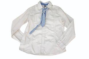 Детская рубашка для мальчика Праздничная одежда для мальчиков Melby Италия 73031425 молочный