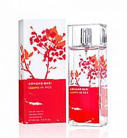 Женская туалетная вода Armand Basi Happy In Red 100 ml (Арманд Баси Хэппи ин Ред)