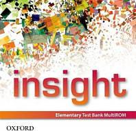 Insight: Elementary Test Bank MultiROM