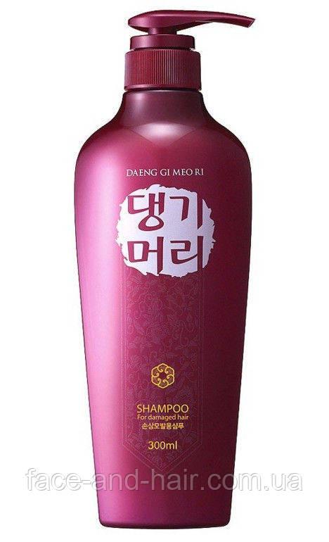 Шампунь для поврежденных волос DAENG GI MEO RI Shampoo for damaged Hair, 300 мл