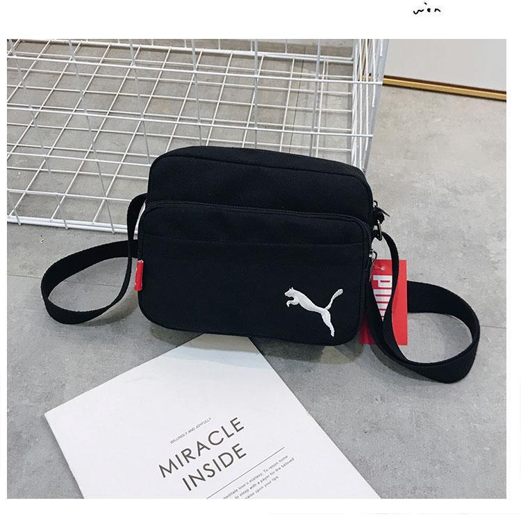 Сумка-планшет Puma черная (реплика)