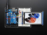Adafruit TFT 3.5 320x480 HXD8357D + Touch panel + SD Card, фото 1