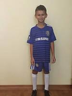 Футбольная форма команды Chelsea 44 158 Синий