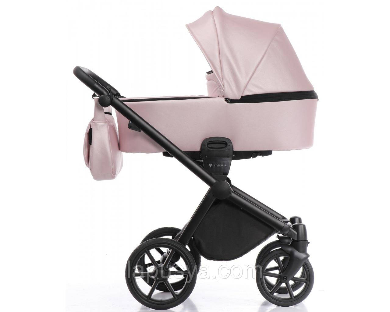 Дитяча коляска 2 в 1 Invictus V-Dream Rose With Black