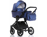 Дитяча коляска 2 в 1 Invictus V-Dream Lux Blue With Black, фото 1