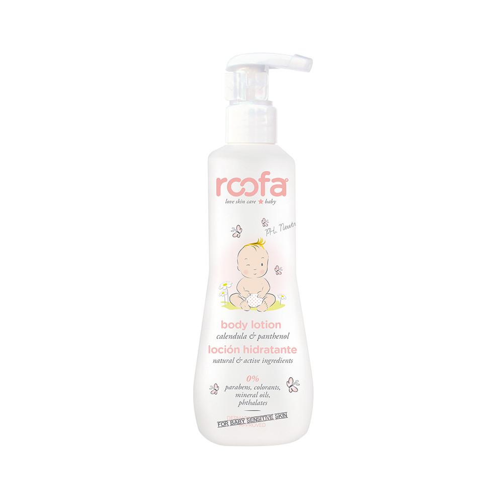 Roofa - Натуральный детский лосьон для тела (300 мл)