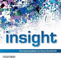 Insight: Pre-Intermediate Test Bank MultiROM