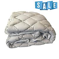 Двуспальное одеяло микрофибра/холофайбер ОДА 175см на 210см серое