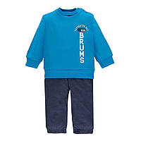 Спортивный костюм  для мальчика Brums   193BDEP003-139 синий  86-92