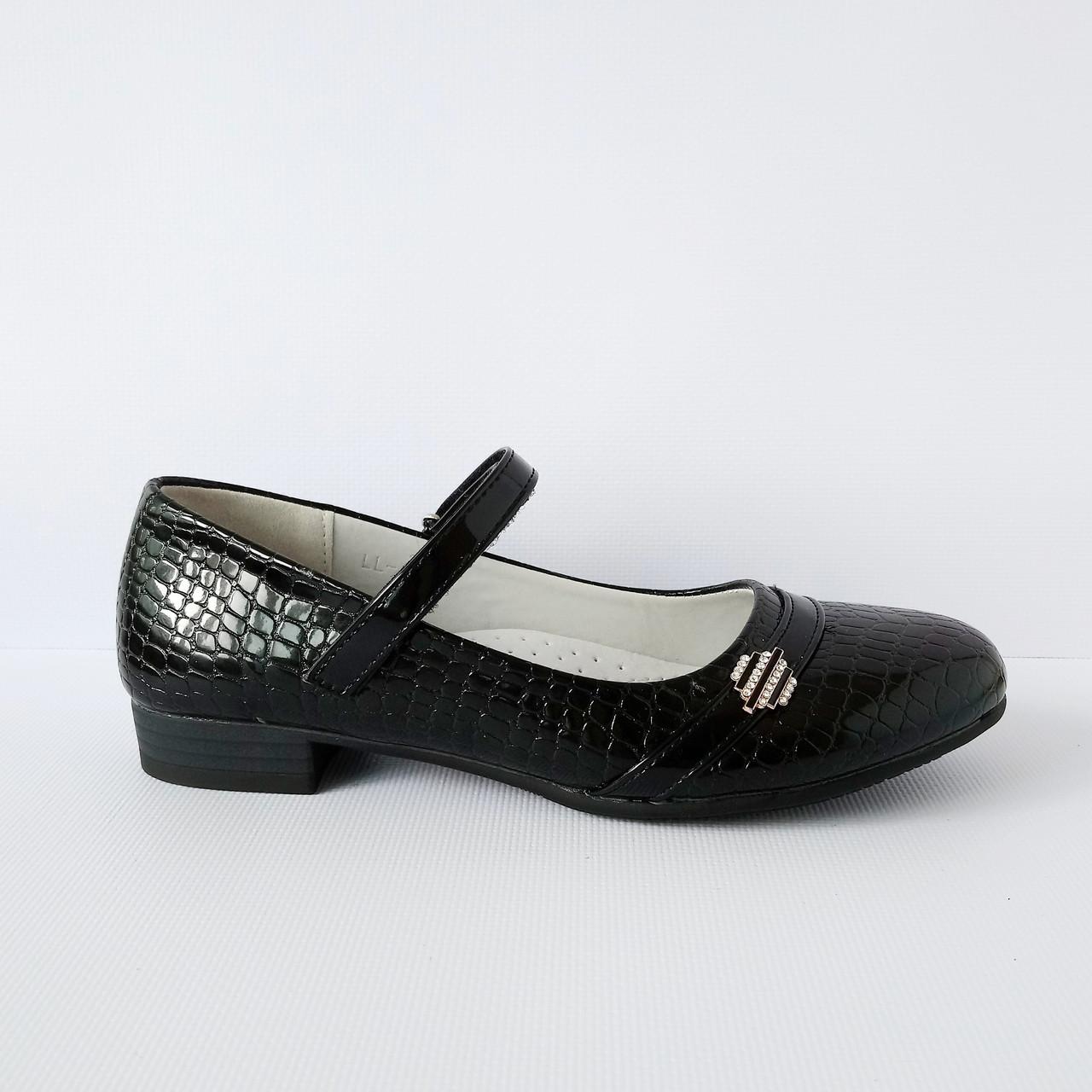Школьные туфли девочкам, р. 32-37 3