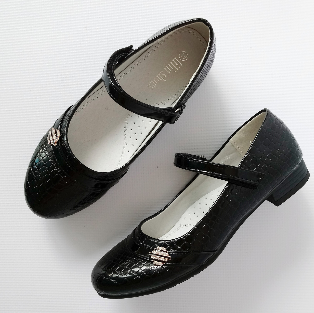 Школьные туфли девочкам, р. 32-37 8
