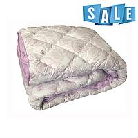 Двуспальное одеяло микрофибра/холофайбер ОДА 175см на 210см сирень