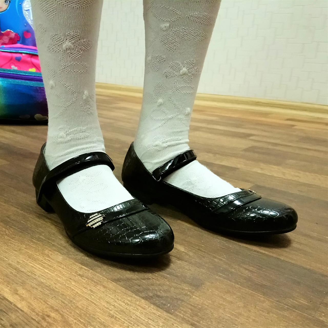 Школьные туфли девочкам, р. 32-37 9