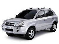 Поперечины на рейлинги Hyundai Tucson (2004-2014)