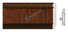 Плінтус підлоговий Арт-Багет 144-2,інтер'єрний декор