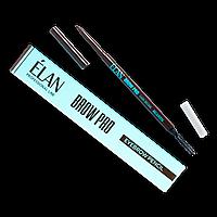 Карандаш для бровей ELAN Dark Brown (Темно коричневый)
