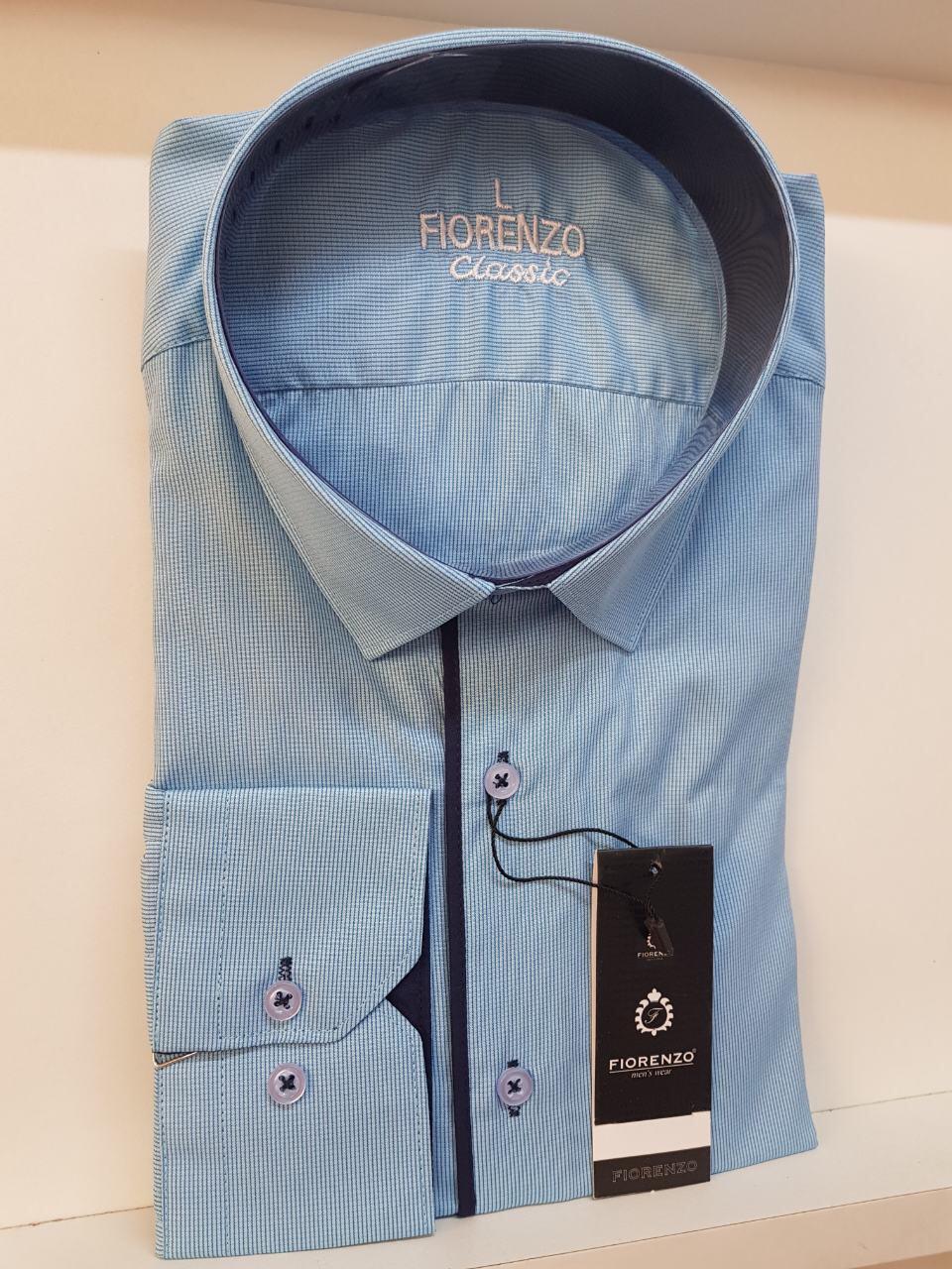 Рубашка Fiorenzo в мелкую клетку