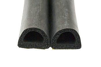 """Ущільнювач Domus - """"D"""" 10 х 12 мм, 50 м чорний"""