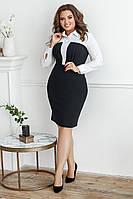 Платье-рубашка, №84, чёрное