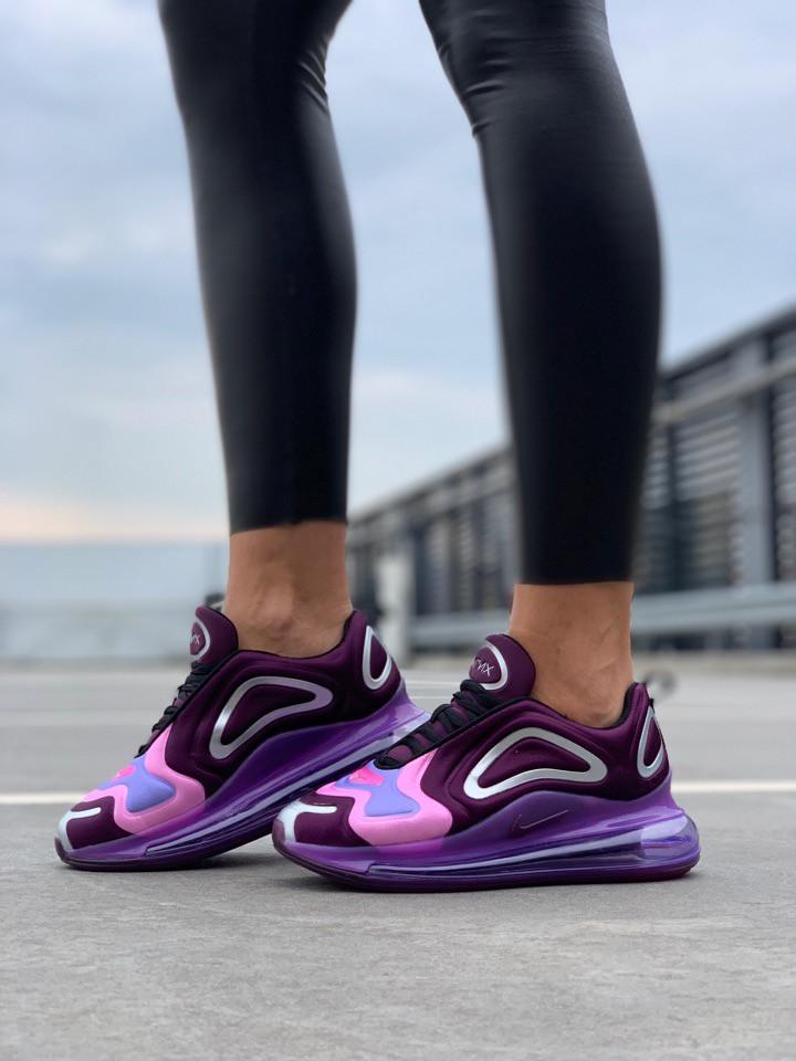 """Женские кроссовки Nike Air Max 720 """"Violet/Pink""""( в стиле Найк )"""