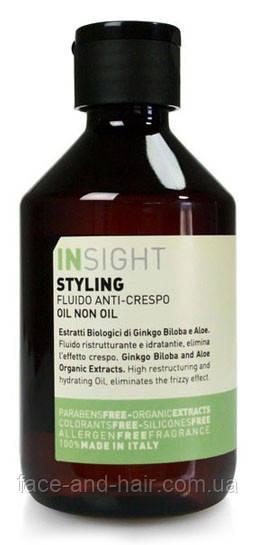 Масло для волос на основе биодинамического экстракта гинкго билоба и алоэ Insight Styling Hair oil 250 мл