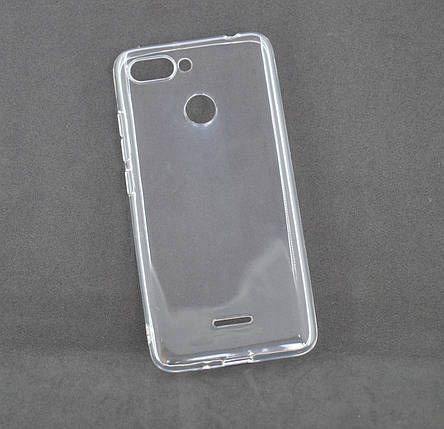 Чехол Xiaomi Redmi 6 Silicon Ultra Thin Air Transparent, фото 2